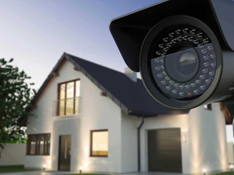عکس دوربین امنیتی منزل